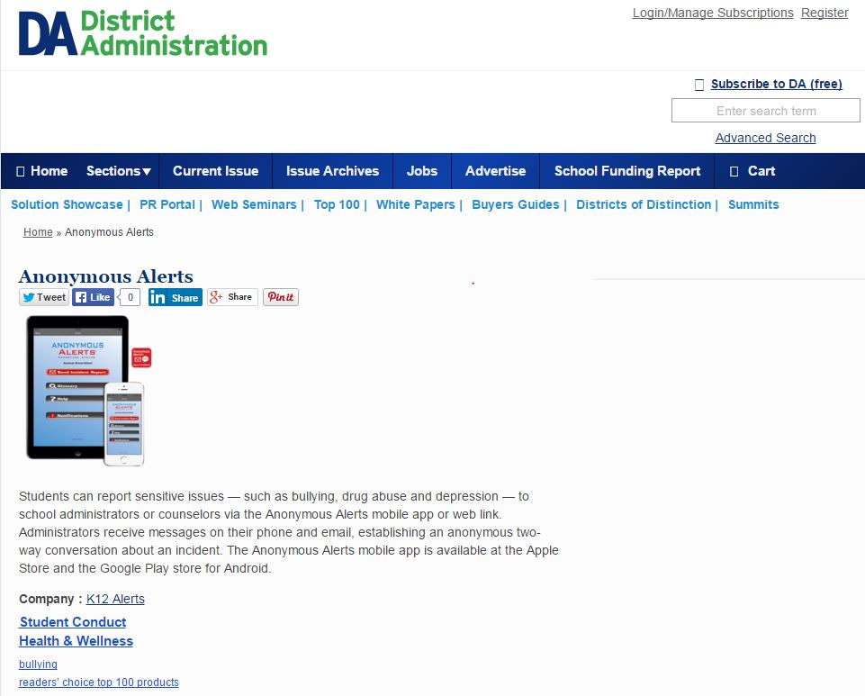 Emergency Notification System | K12 Alerts for Schools